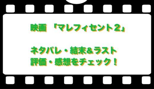 映画 「マレフィセント2」のネタバレ!結末&ラストと評価・感想をチェック!